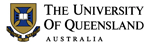 The University of Queenland (UQ) logo